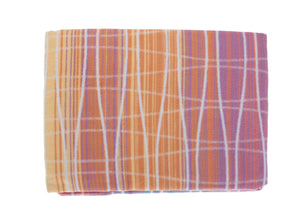 Organic Cotton Fleece Throw Multicoloured -  - LIVING  from The Wool Company