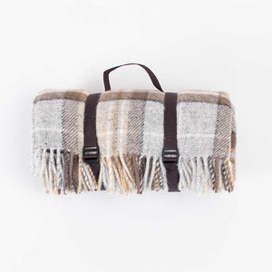 Buy Pure New Wool Picnic Rug McKellar From The Wool Company Online