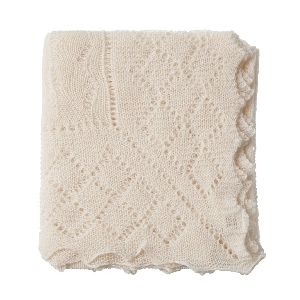 Pure Wool Baby Shawl BABY The Wool Company