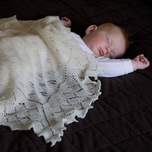 Buy Pure Wool Baby Shawl From The Wool Company Online