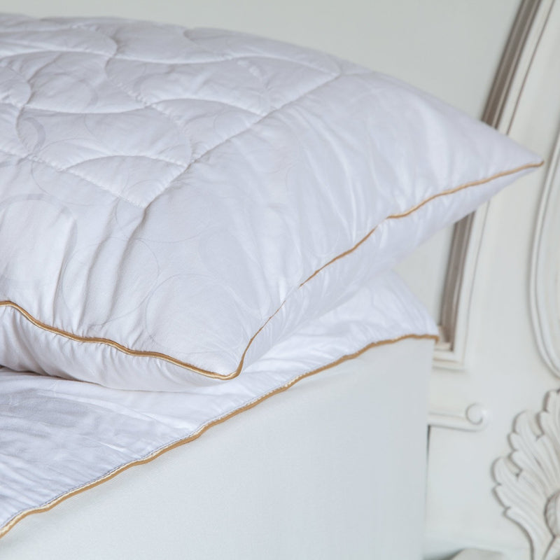 Quilted Wool Pillow Protectors -  - LUXURY BEDDING  from The Wool Company