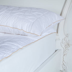 Buy Quilted Wool Pillow Protectors From The Wool Company Online