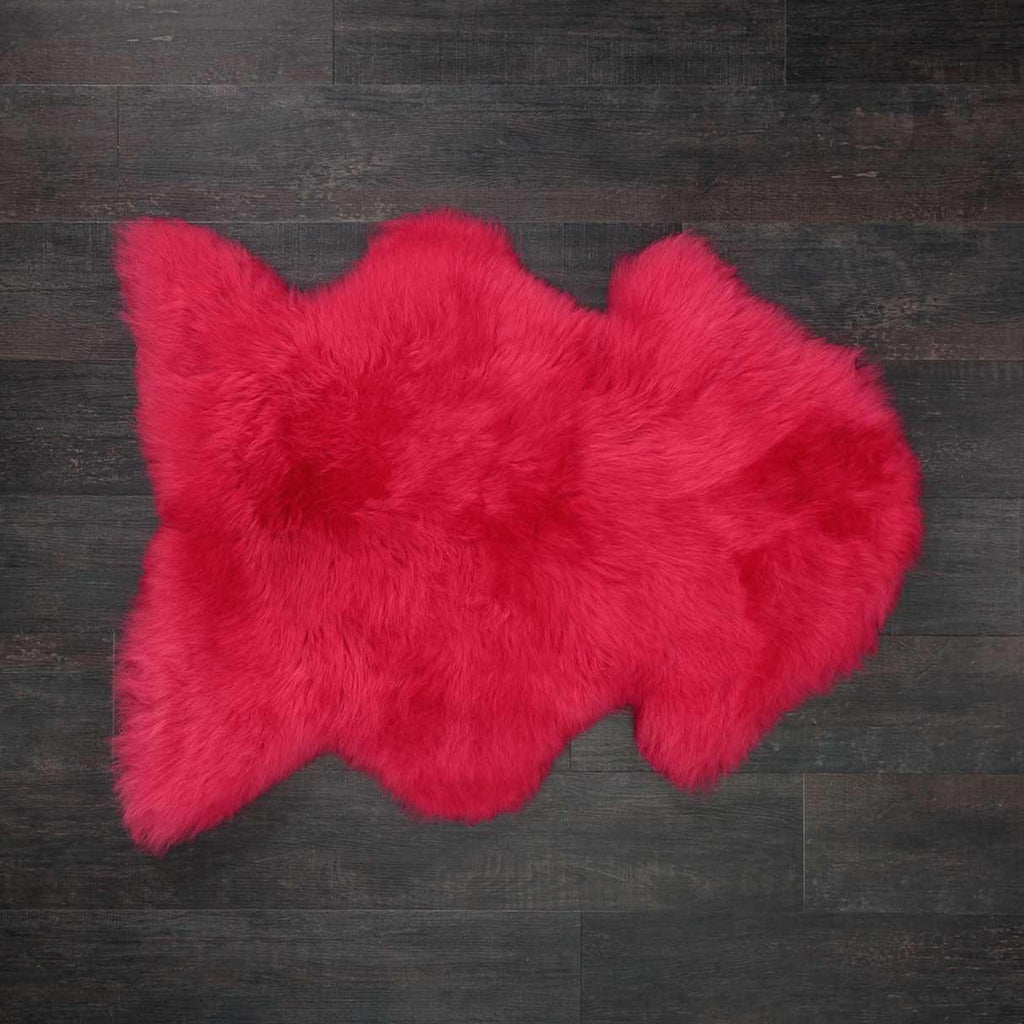 Raspberry Pink Sheepskin -  - SHEEPSKIN  from The Wool Company