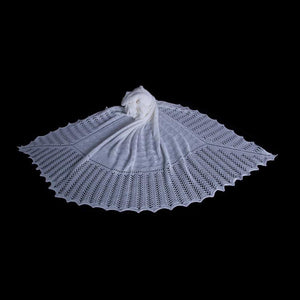 Buy Receiving Blanket in Wool / Cotton Blend From The Wool Company Online