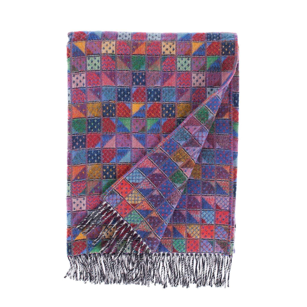 Scilly Isles Merino Throw St Agnes The Wool Company