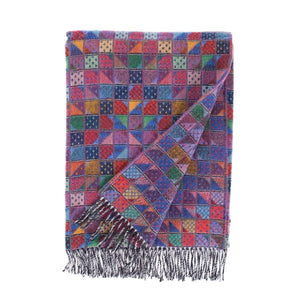 Scilly Isles Merino Throw St Agnes -  -   from The Wool Company