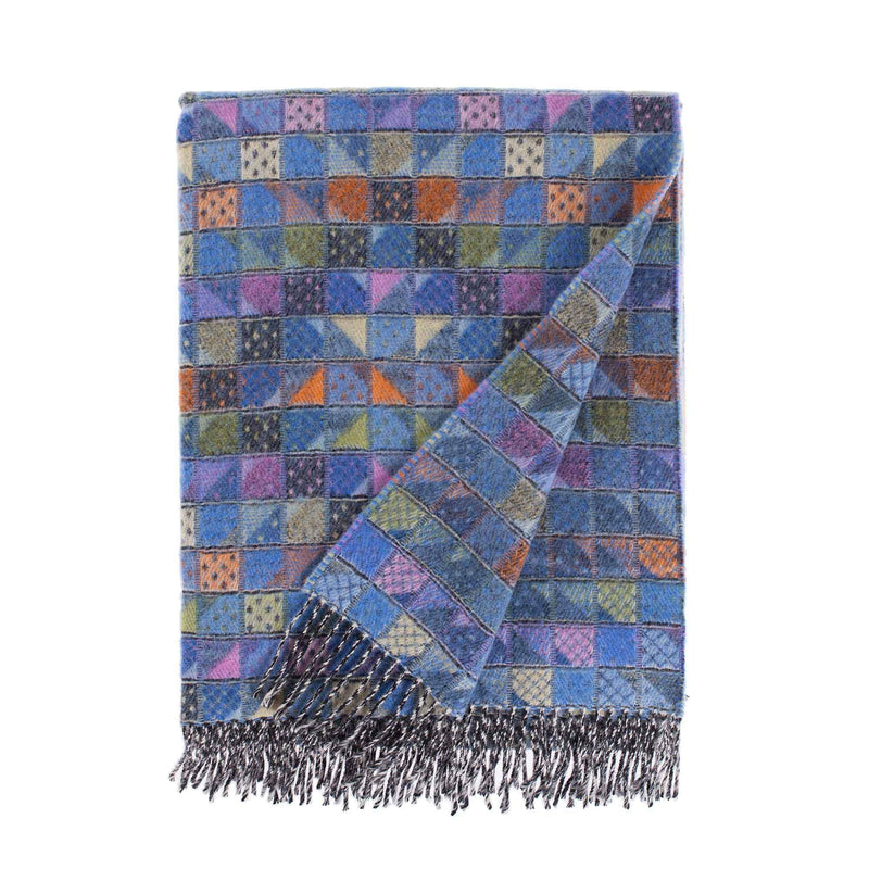 Scilly Isles Merino Throw Tresco -  -   from The Wool Company