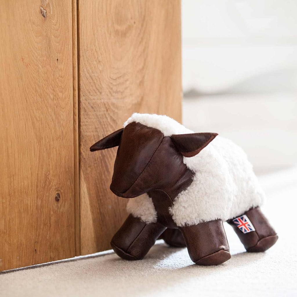 Sheep Doorstop -  - SHEEPSKIN  from The Wool Company