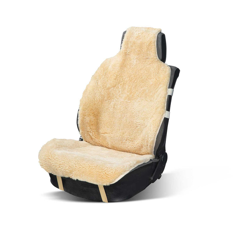 Sheepskin Car Seat Cover Natural -  - SHEEPSKIN  from The Wool Company