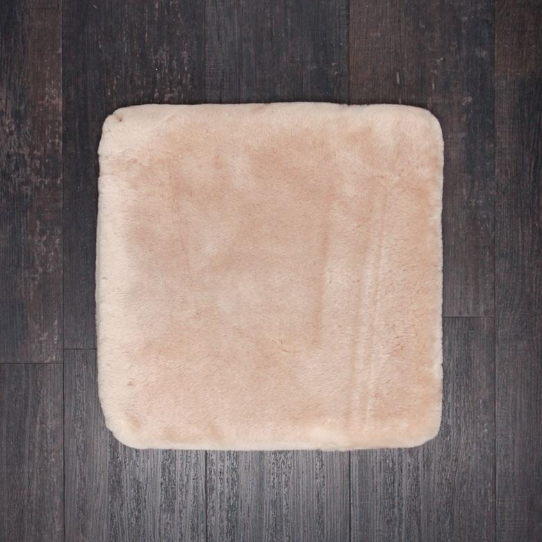 Sheepskin Comfort Cushion Cornsilk -  - SHEEPSKIN  from The Wool Company