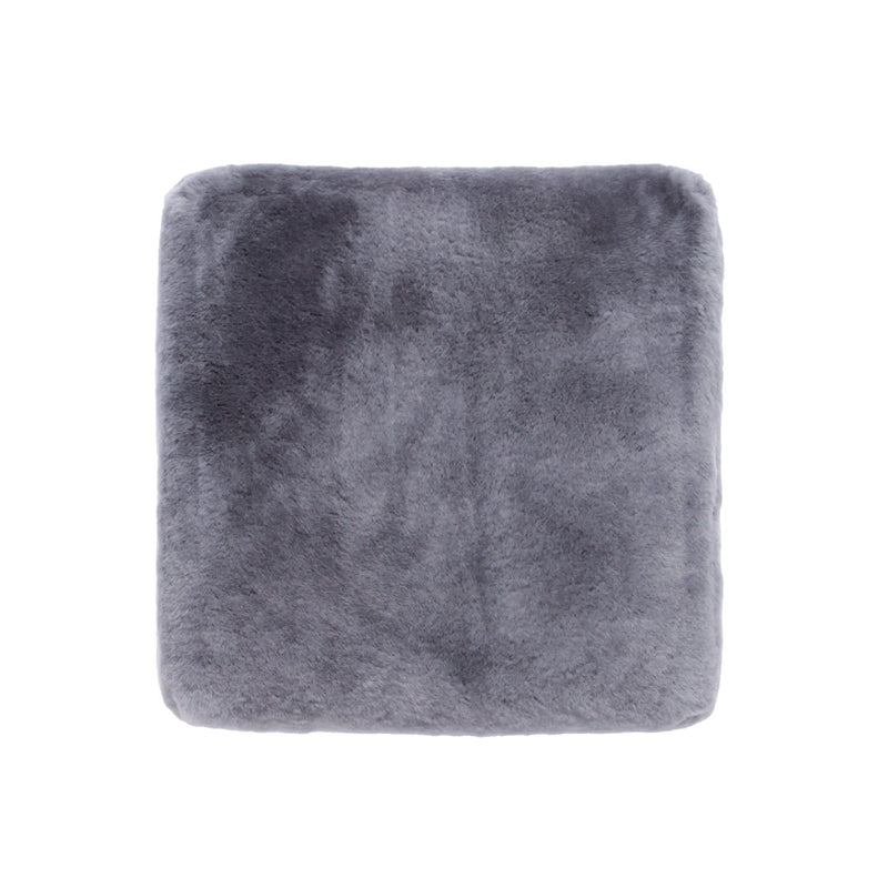 Sheepskin Comfort Cushion Graphite -  - SHEEPSKIN  from The Wool Company