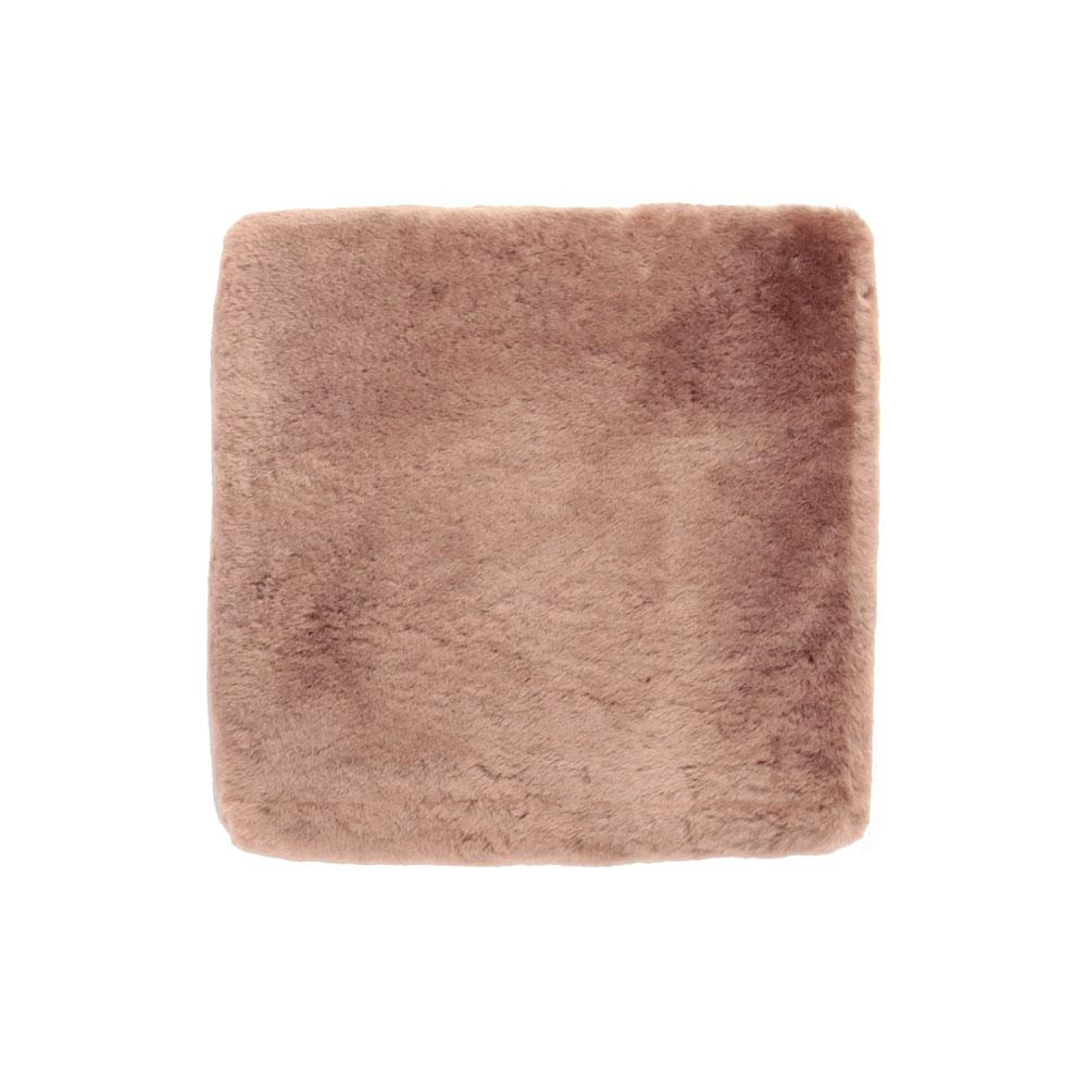 Buy Sheepskin Comfort Cushion Taupe From The Wool Company Online