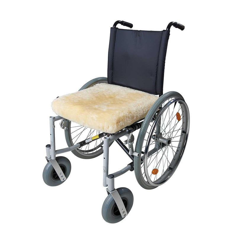 Sheepskin Cushion For Wheelchair -  - SHEEPSKIN  from The Wool Company