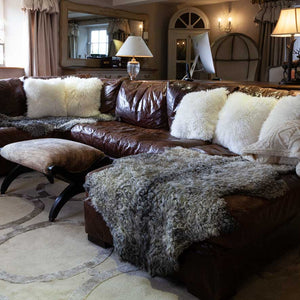 Sheepskin Cushions Double Faced -  - SHEEPSKIN  from The Wool Company