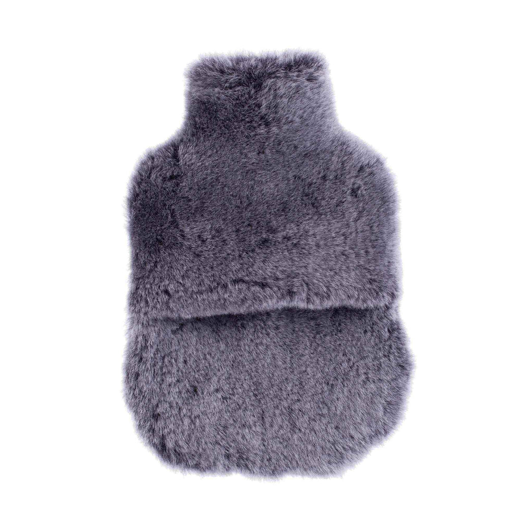 Buy Sheepskin Hot Water Bottle Graphite From The Wool Company Online