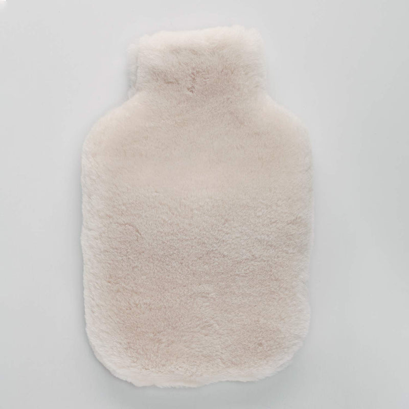 Buy Sheepskin Hot Water Bottle Oyster From The Wool Company Online