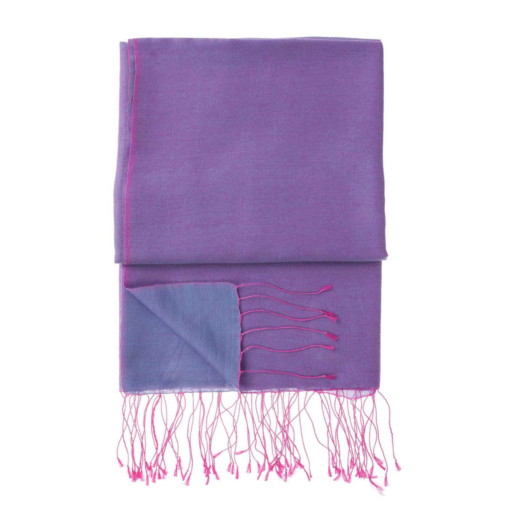 Silk Blend Shawls Crocus -  - CLOTHING  from The Wool Company