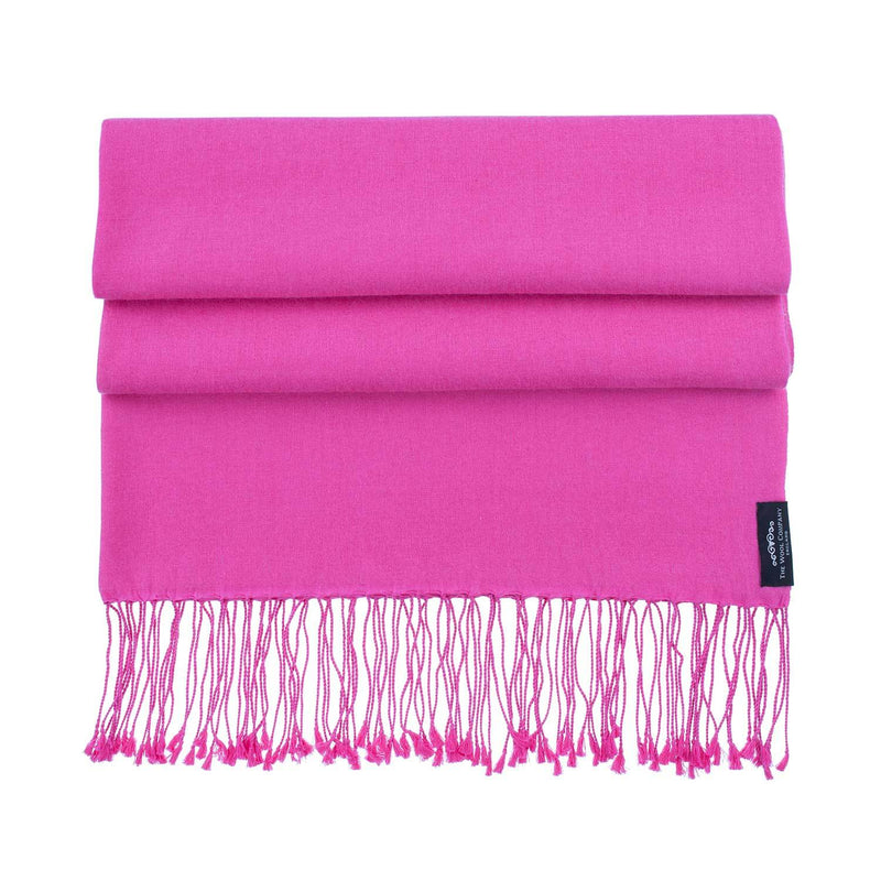 Silk Cashmere Pashmina Lipstick CLOTHING The Wool Company