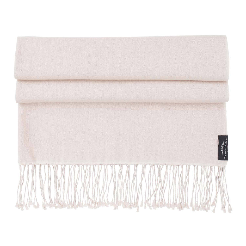 Buy Silk Cashmere Pashmina Nude From The Wool Company Online
