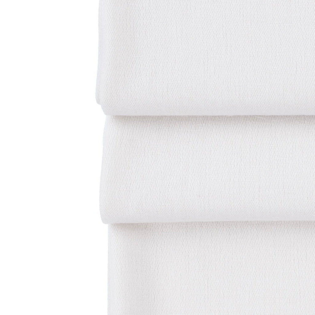Silk Cashmere Pashmina Off-White -  - CLOTHING  from The Wool Company