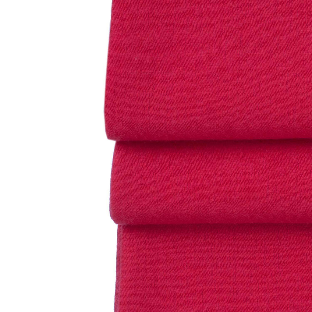 Silk Cashmere Pashmina Real Red -  - CLOTHING  from The Wool Company