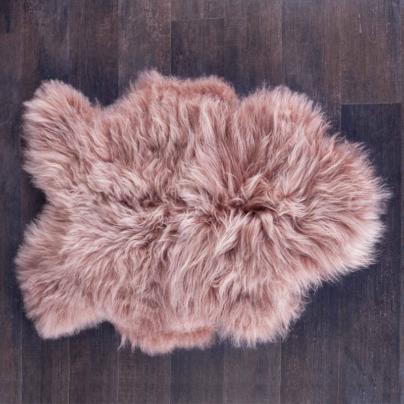 Buy Silver Rose Icelandic Sheepskin From The Wool Company Online