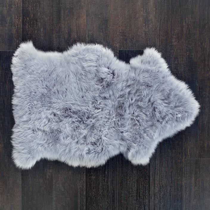 Buy Silver Sheepskin Rug From The Wool Company Online