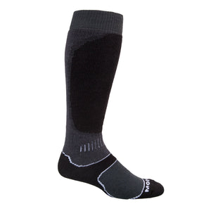 Snow Sport Mohair Socks - Charcoal / UK 8 - 11 - CLOTHING  from The Wool Company
