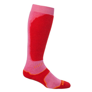Snow Sport Mohair Socks - Red / UK 4 - 7 - CLOTHING  from The Wool Company