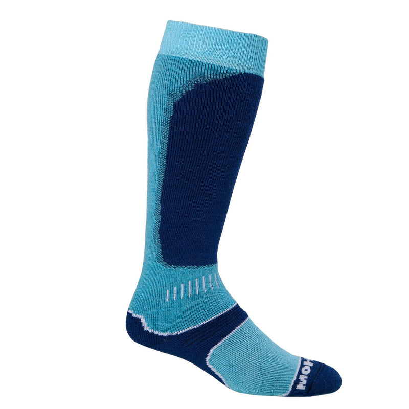 Snow Sport Mohair Socks Turquoise UK 8 - 11 CLOTHING The Wool Company