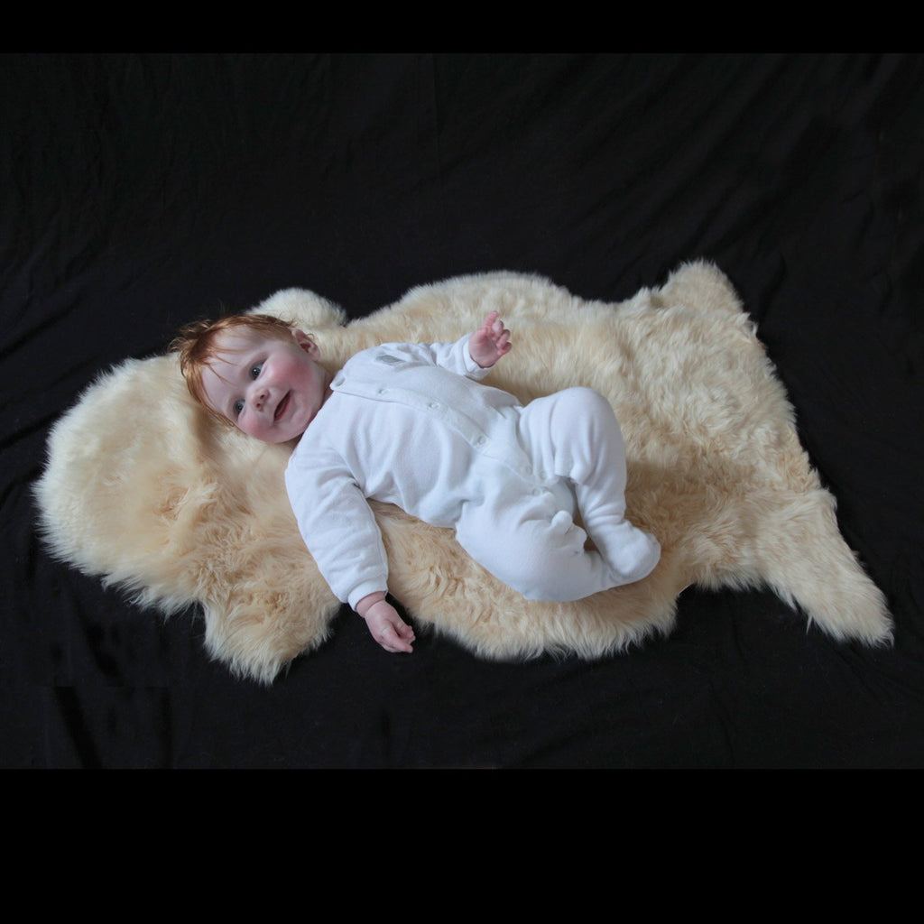 Soft Natural Length Sheepskin SHEEPSKIN The Wool Company