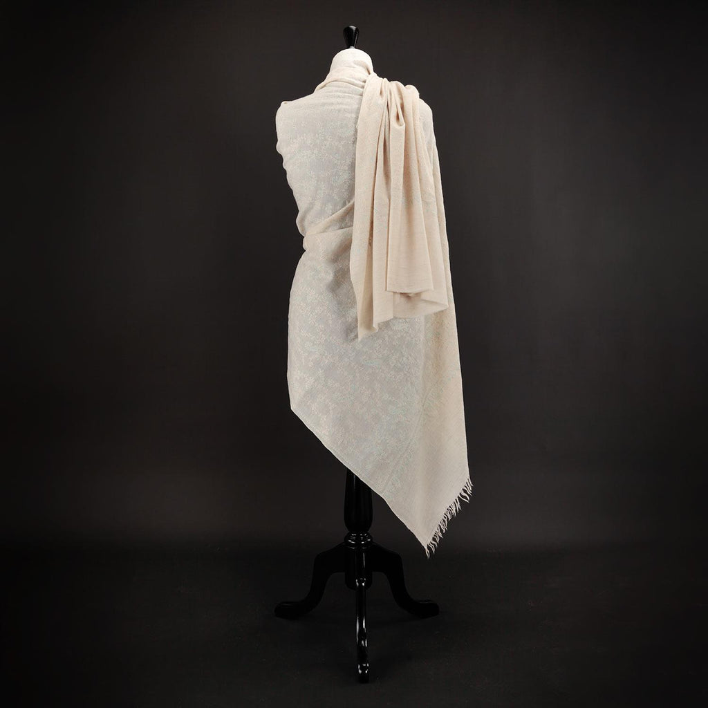 Sozni Bail Hand Embroidered Pashmina -  - CLOTHING  from The Wool Company