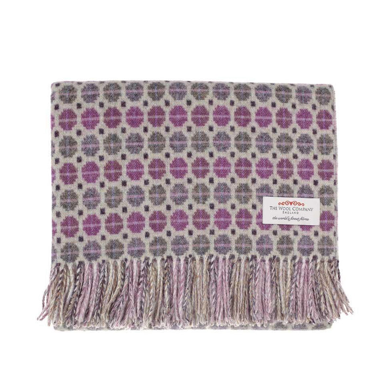 Tapestry Merino Throw Clover -  - LIVING  from The Wool Company