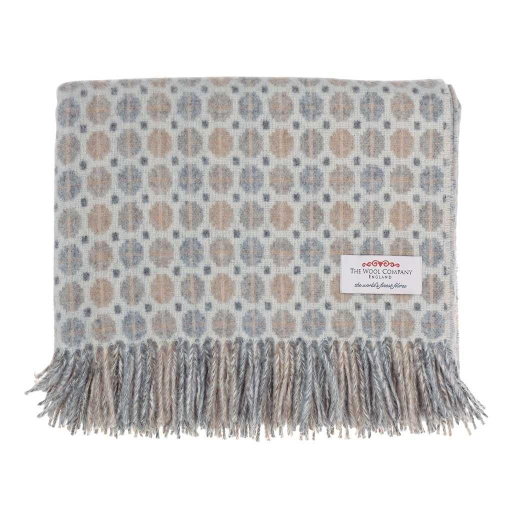 Tapestry Merino Throw Natural -  - LIVING  from The Wool Company