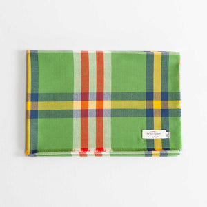 Tartan Extra Fine Merino Stole Elie Apple -  - CLOTHING  from The Wool Company