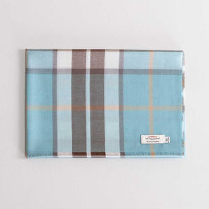 Tartan Extra Fine Merino Stole Thompson Opal -  - CLOTHING  from The Wool Company