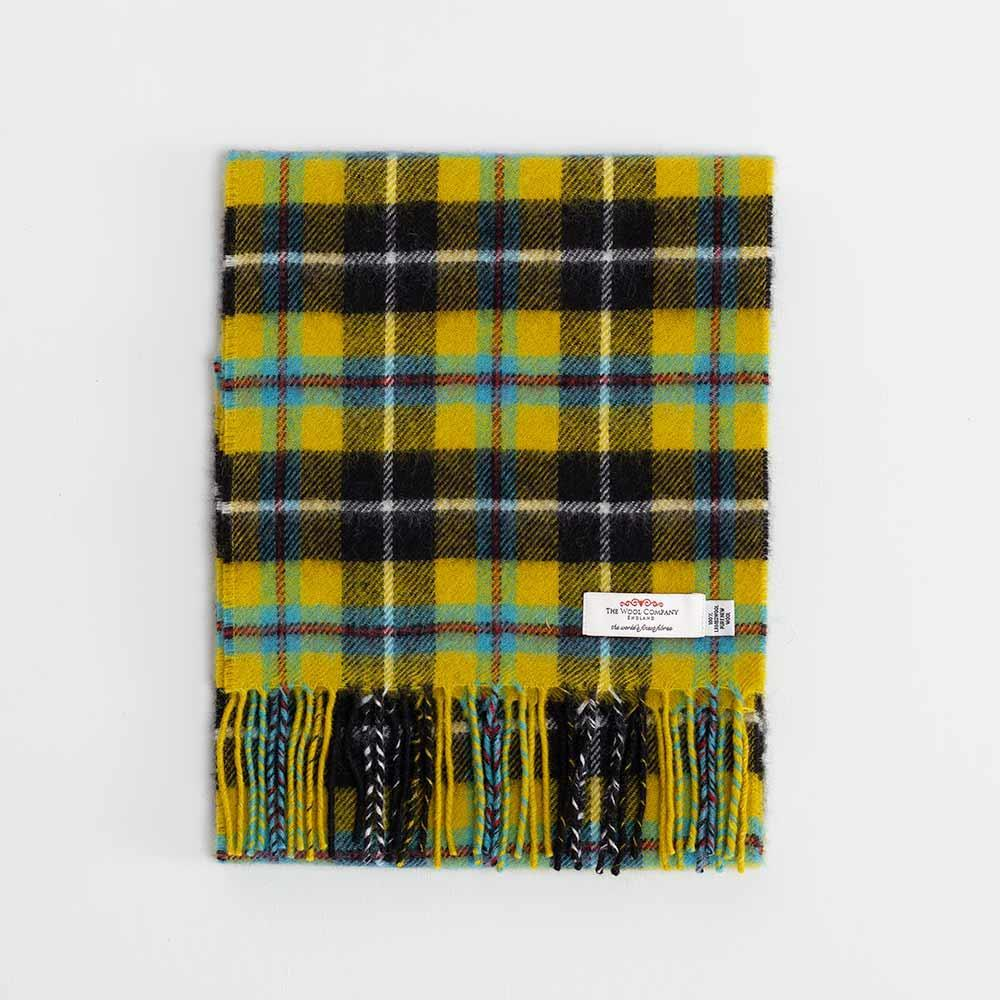 Tartan Lambswool Scarf Cornish National -  - CLOTHING  from The Wool Company