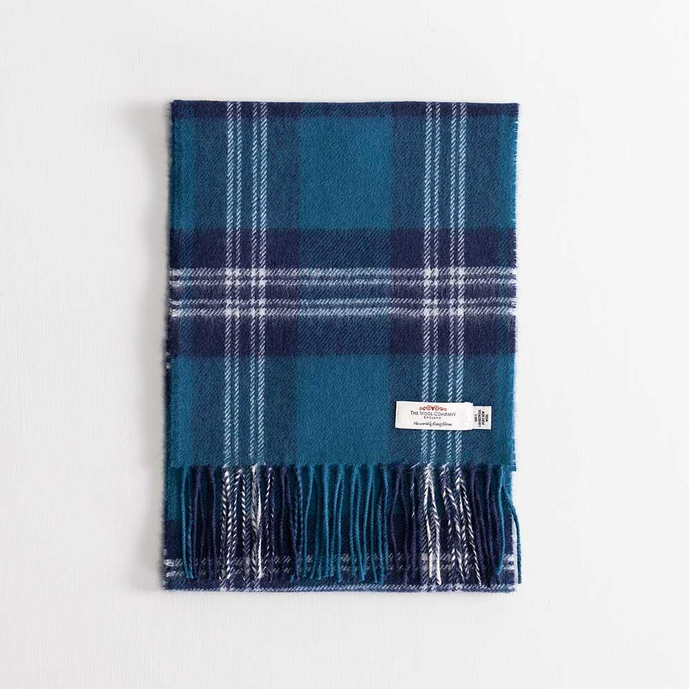 Buy Tartan Lambswool Scarf Earl of St Andrews From The Wool Company Online