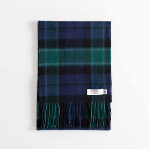 Buy Tartan Lambswool Scarf Graham of Mentieth Modern From The Wool Company Online