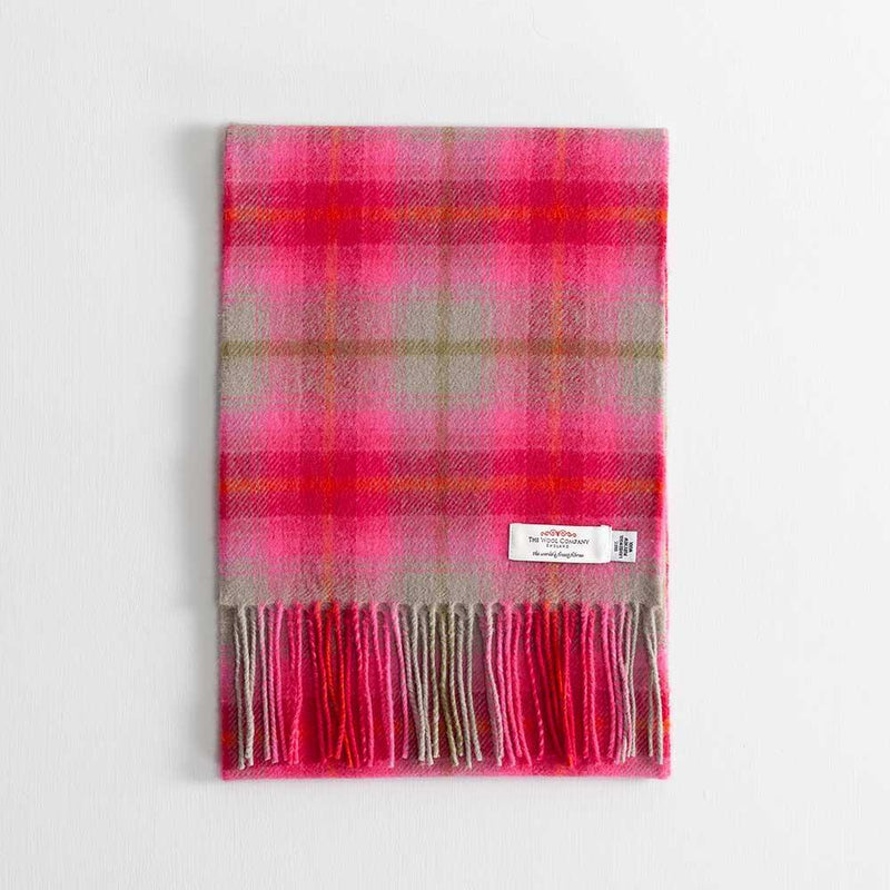 Buy Tartan Lambswool Scarf Lilliesleaf From The Wool Company Online
