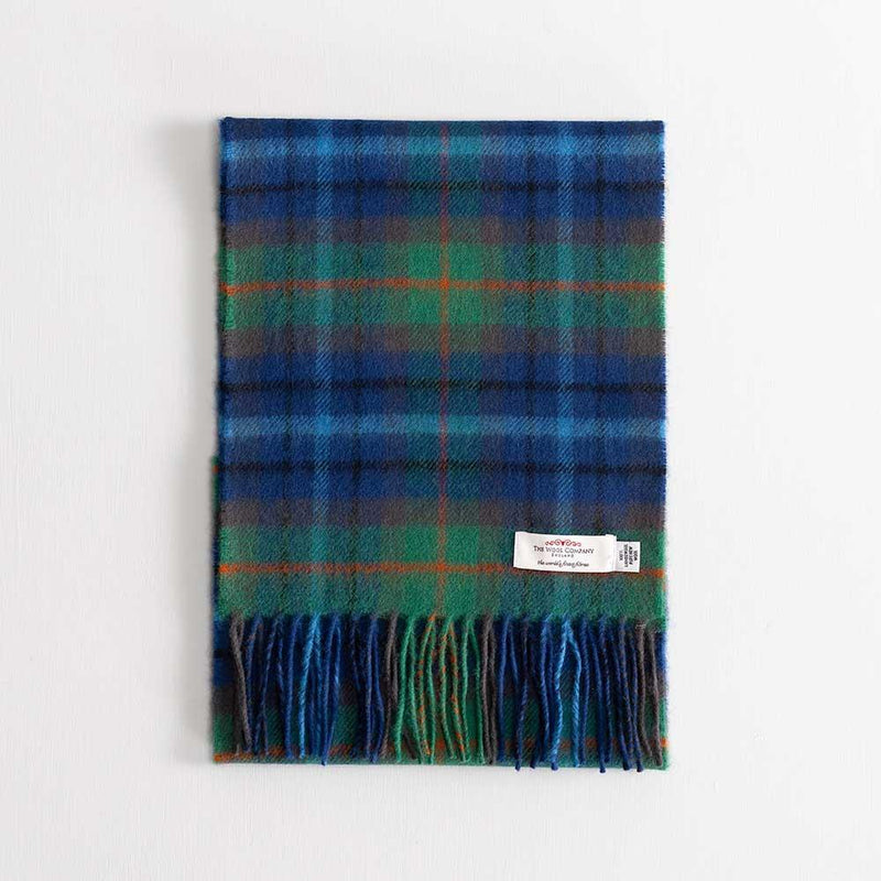 Tartan Lambswool Scarf New York City -  - CLOTHING  from The Wool Company