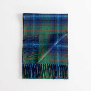 Buy Tartan Lambswool Scarf New York City From The Wool Company Online