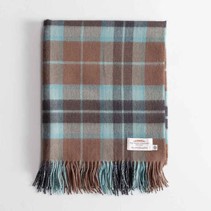 Tartan Lambswool Throw Thompson Hunting Weathered -  - LIVING  from The Wool Company
