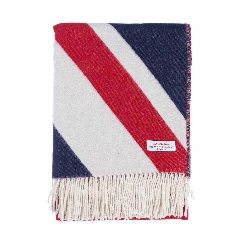 Union Jack Throw - Default Title - LIVING  from The Wool Company