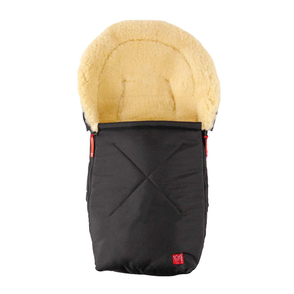 Universal Sheepskin Footmuff for Baby Black -  - BABY  from The Wool Company