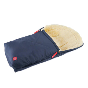 Universal Sheepskin Footmuff for Baby Navy -  - BABY  from The Wool Company