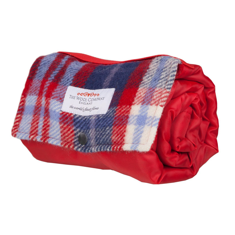 Walker Companion Small Picnic Rug Marine -  - LIVING  from The Wool Company