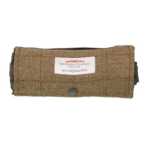 Walker Companion Tweed Picnic Rug Olive LIVING The Wool Company
