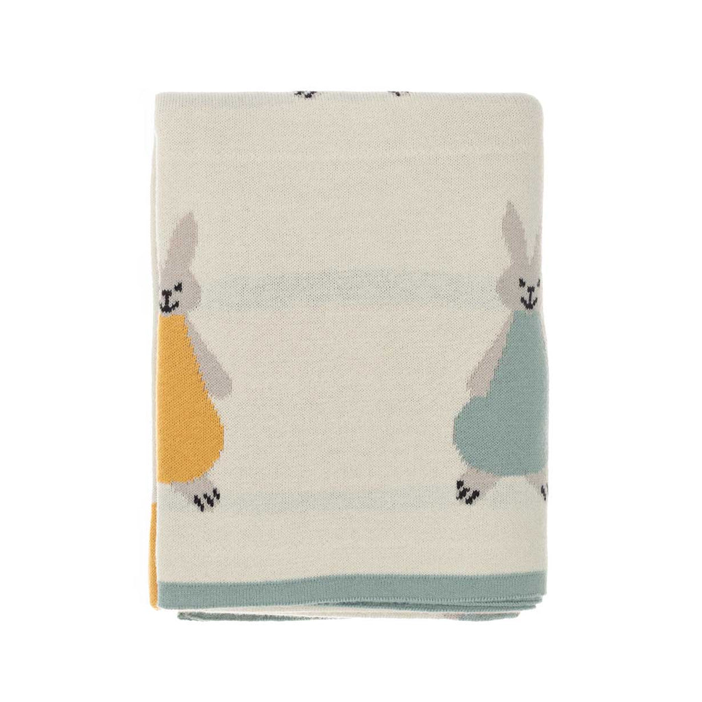 Buy Willow Rabbit Baby Blanket Cream From The Wool Company Online