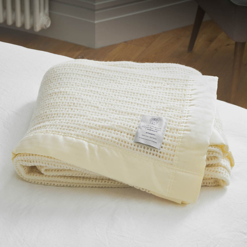 Buy Wool Cellular Blanket From The Wool Company Online